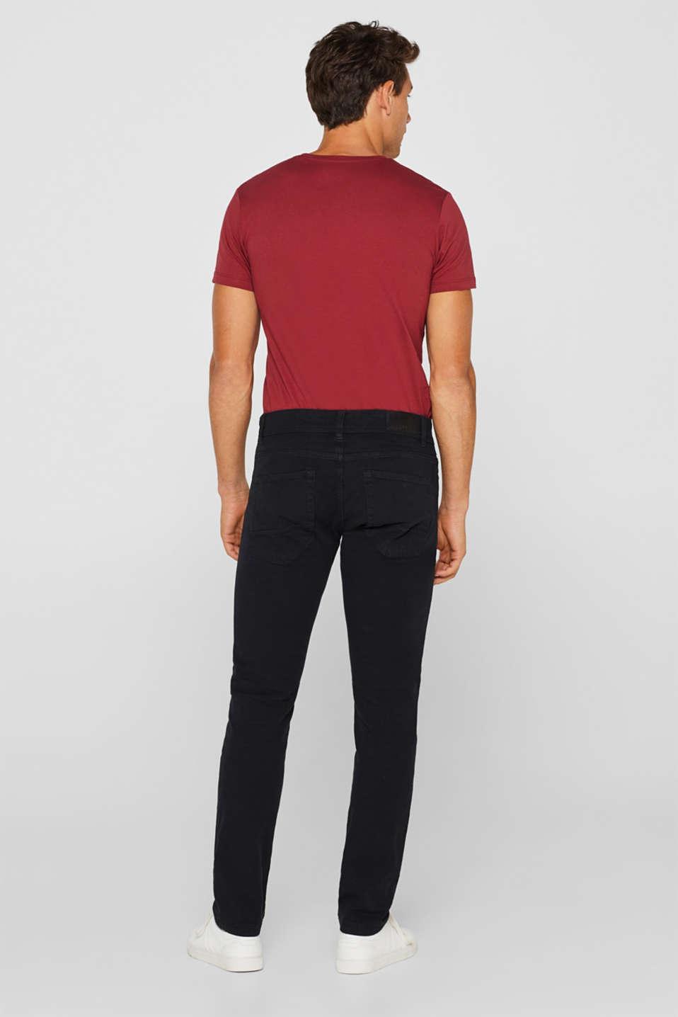 Pants woven Slim fit, BLACK, detail image number 3