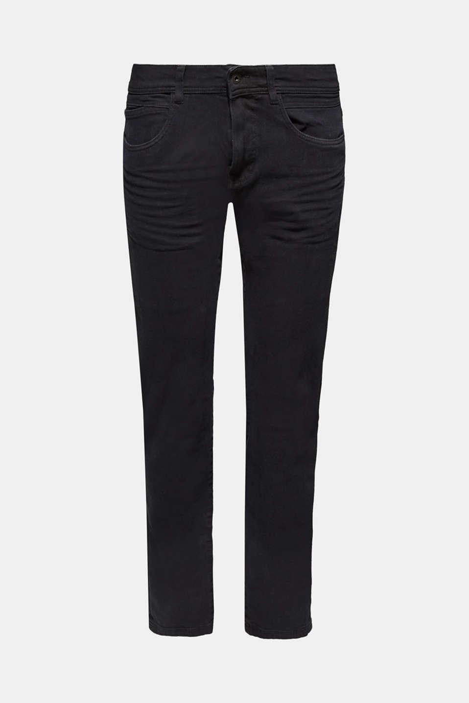 Pants woven Slim fit, BLACK, detail image number 5