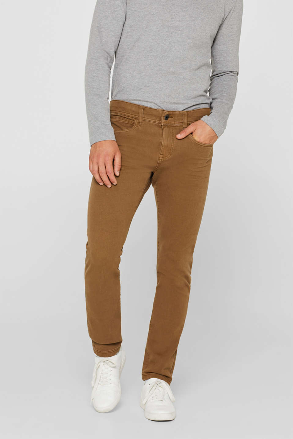 Esprit - Super stretch jeans in an extra slim fit