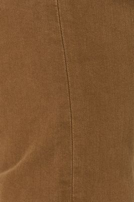 Super stretch jeans in an extra slim fit, BARK, detail