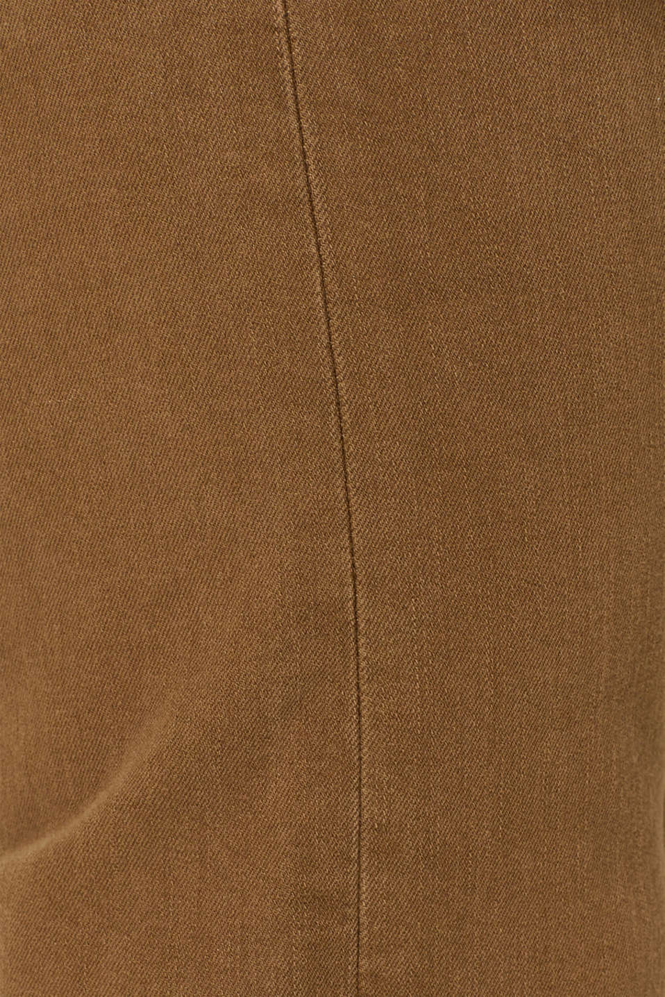 Super stretch jeans in an extra slim fit, BARK, detail image number 4