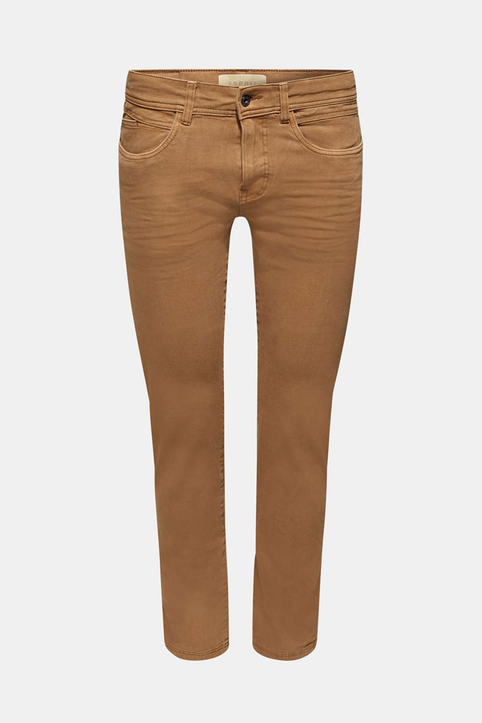 Super stretch jeans in an extra slim fit, BARK, detail image number 6