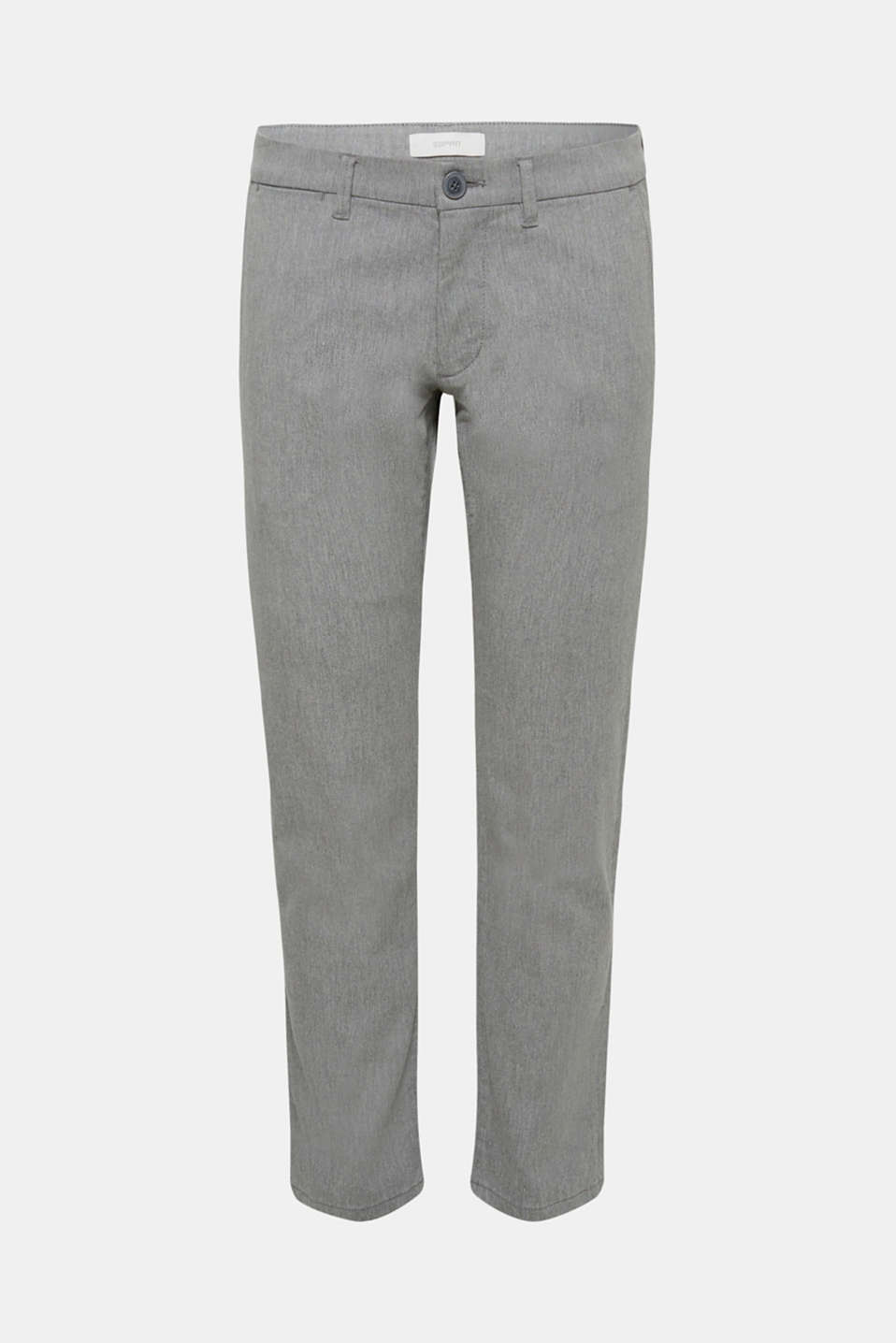Pants woven Slim fit, GREY, detail image number 6