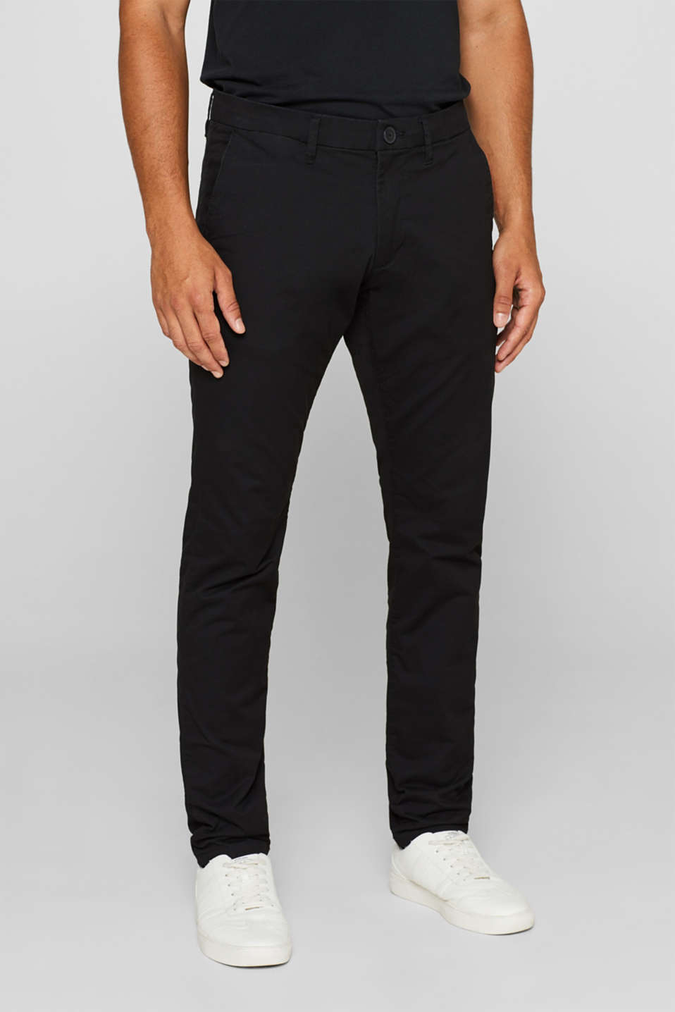 Five pocket trousers made of stretch cotton