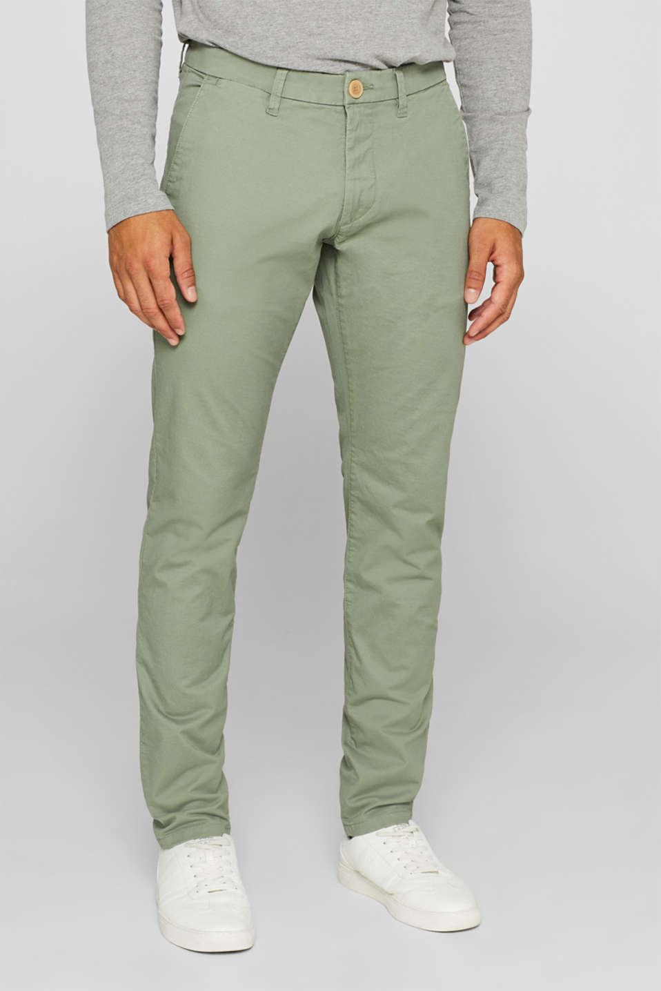 Esprit - 5-Pocket-Pants aus Baumwoll-Stretch