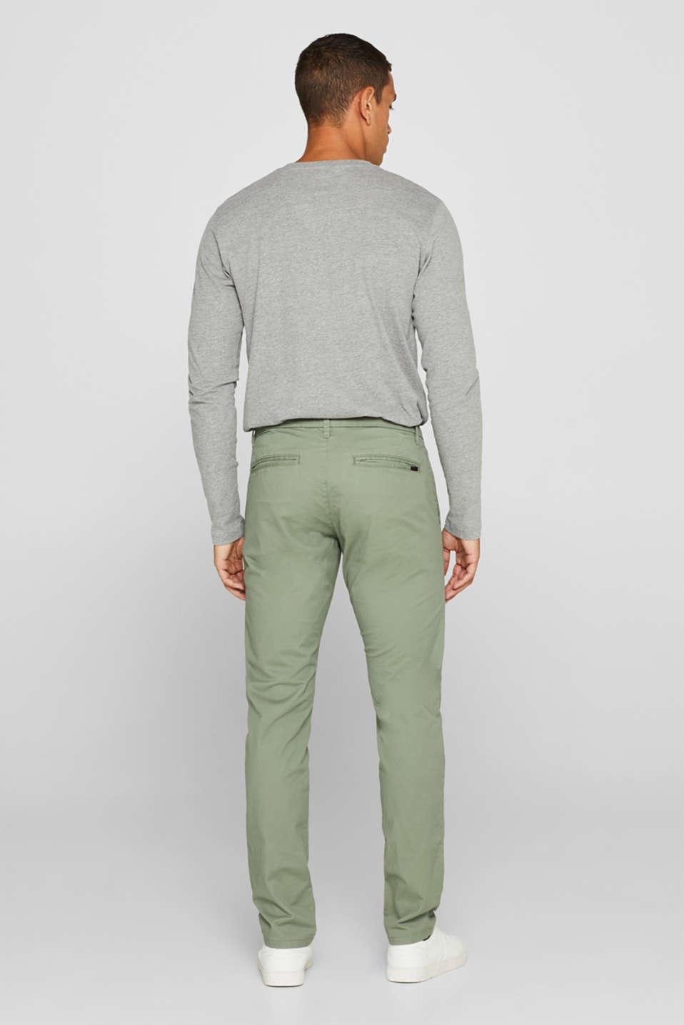 Pants woven Slim fit, LIGHT KHAKI, detail image number 2