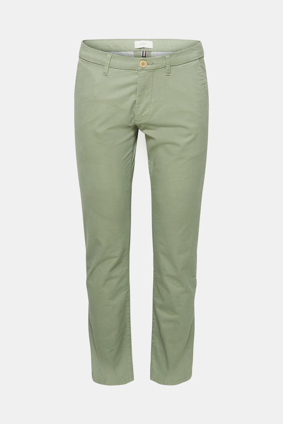 Pants woven Slim fit, LIGHT KHAKI, detail image number 4