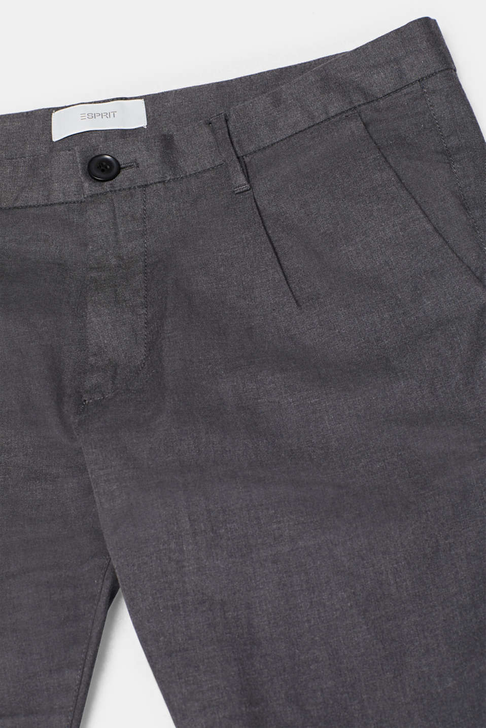 Pants woven Slim fit, ANTHRACITE, detail image number 3
