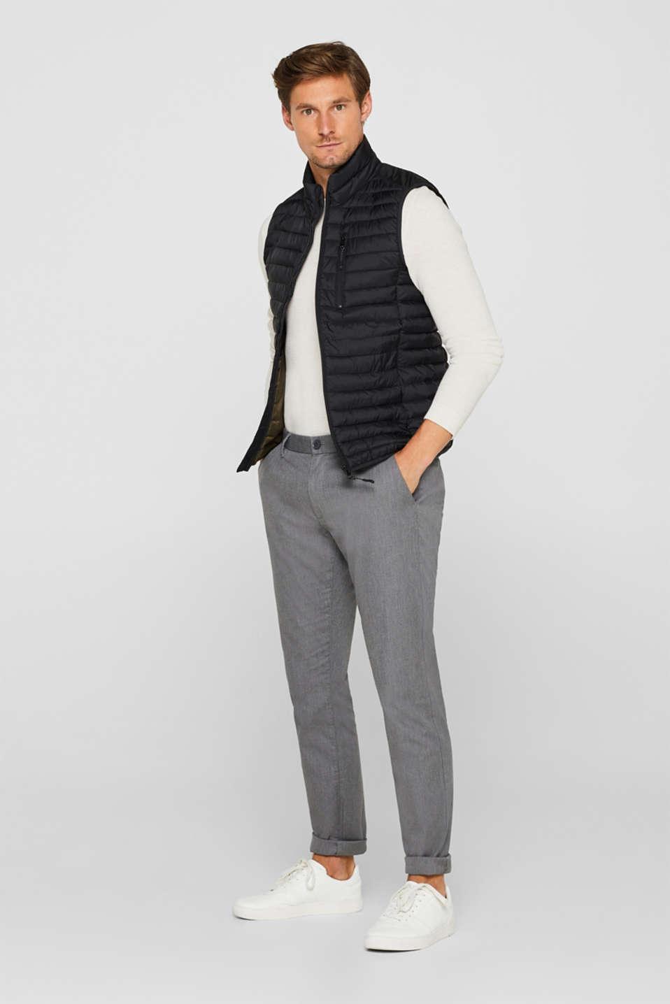 Pants woven Slim fit, GREY, detail image number 1