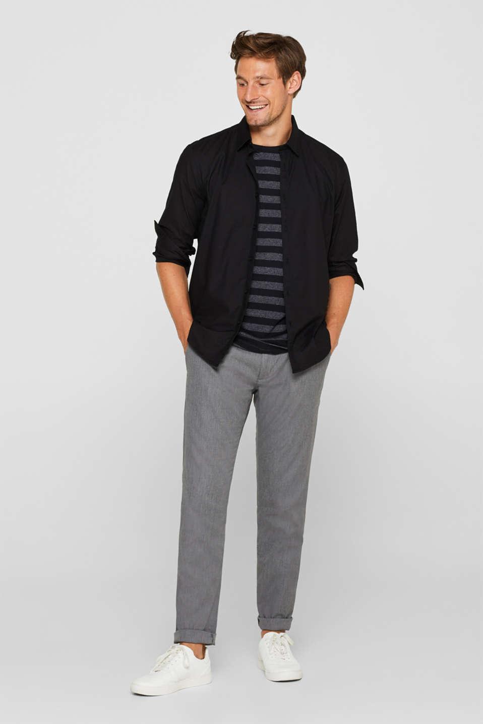 Pants woven Slim fit, GREY, detail image number 6