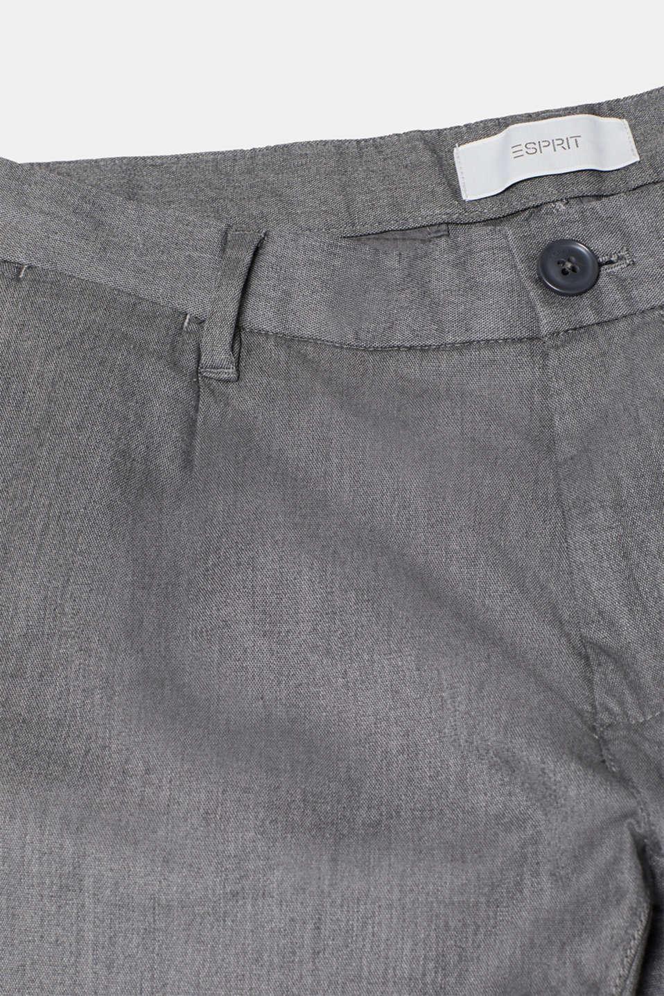 Pants woven Slim fit, GREY, detail image number 4
