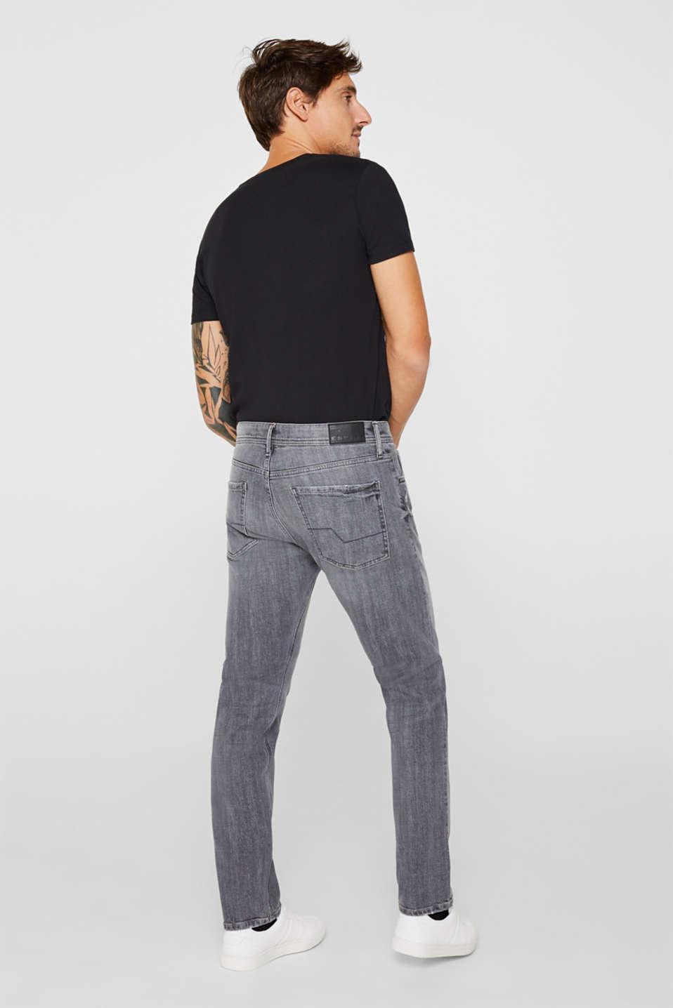 Pants denim, GREY MEDIUM WASH, detail image number 1