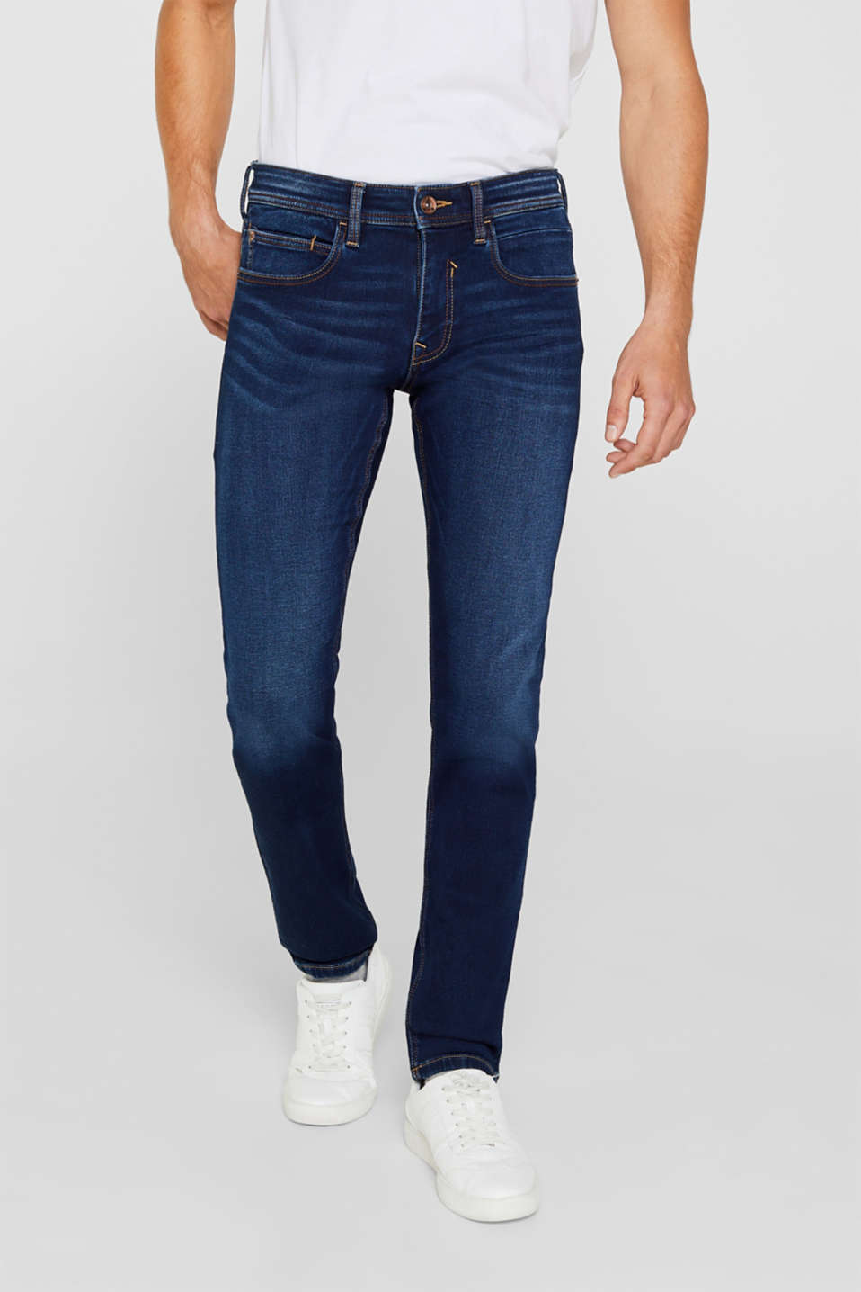 Esprit - Superstretch-Jeans in Jogger-Qualität