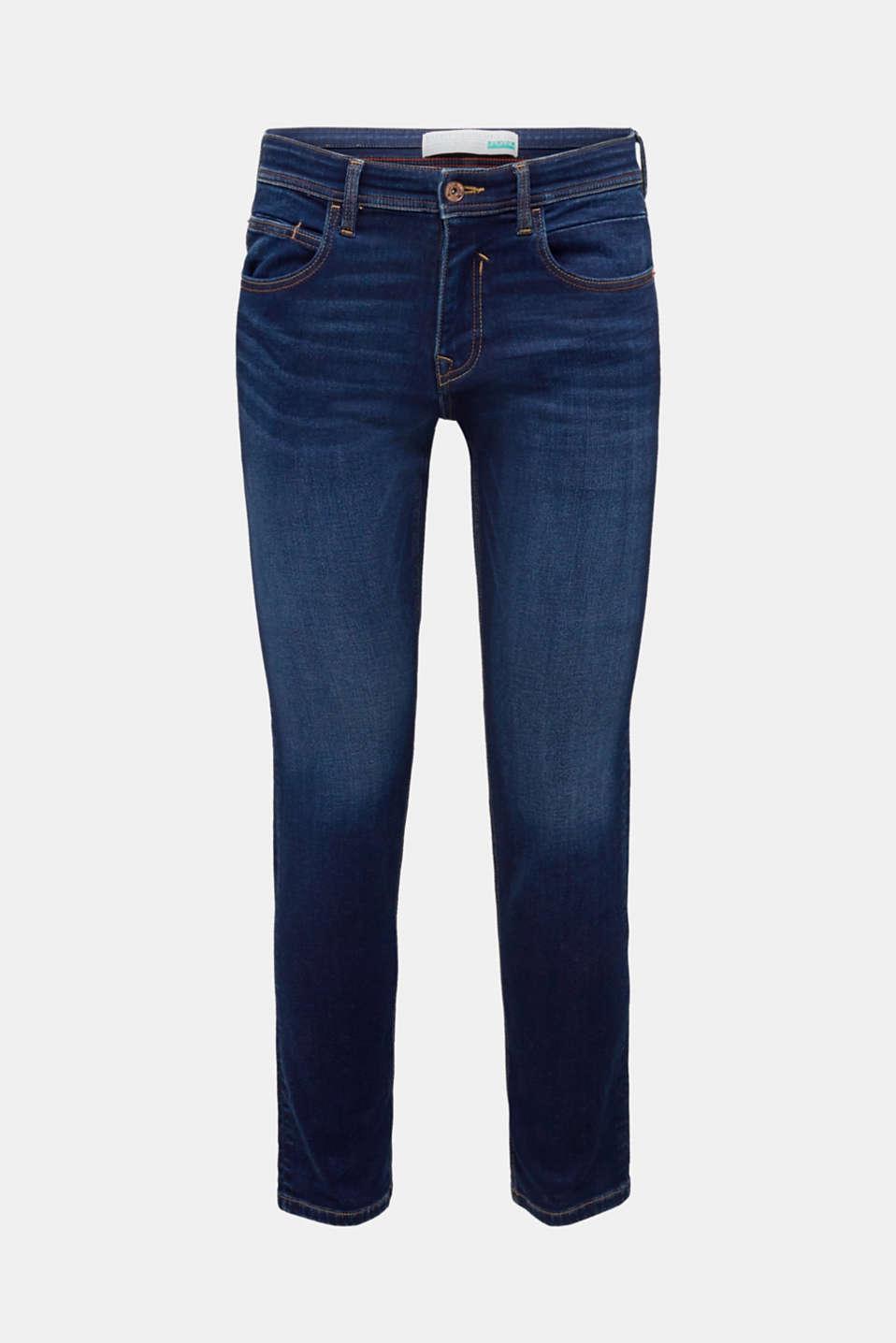 Pants denim, BLUE DARK WASH, detail image number 6