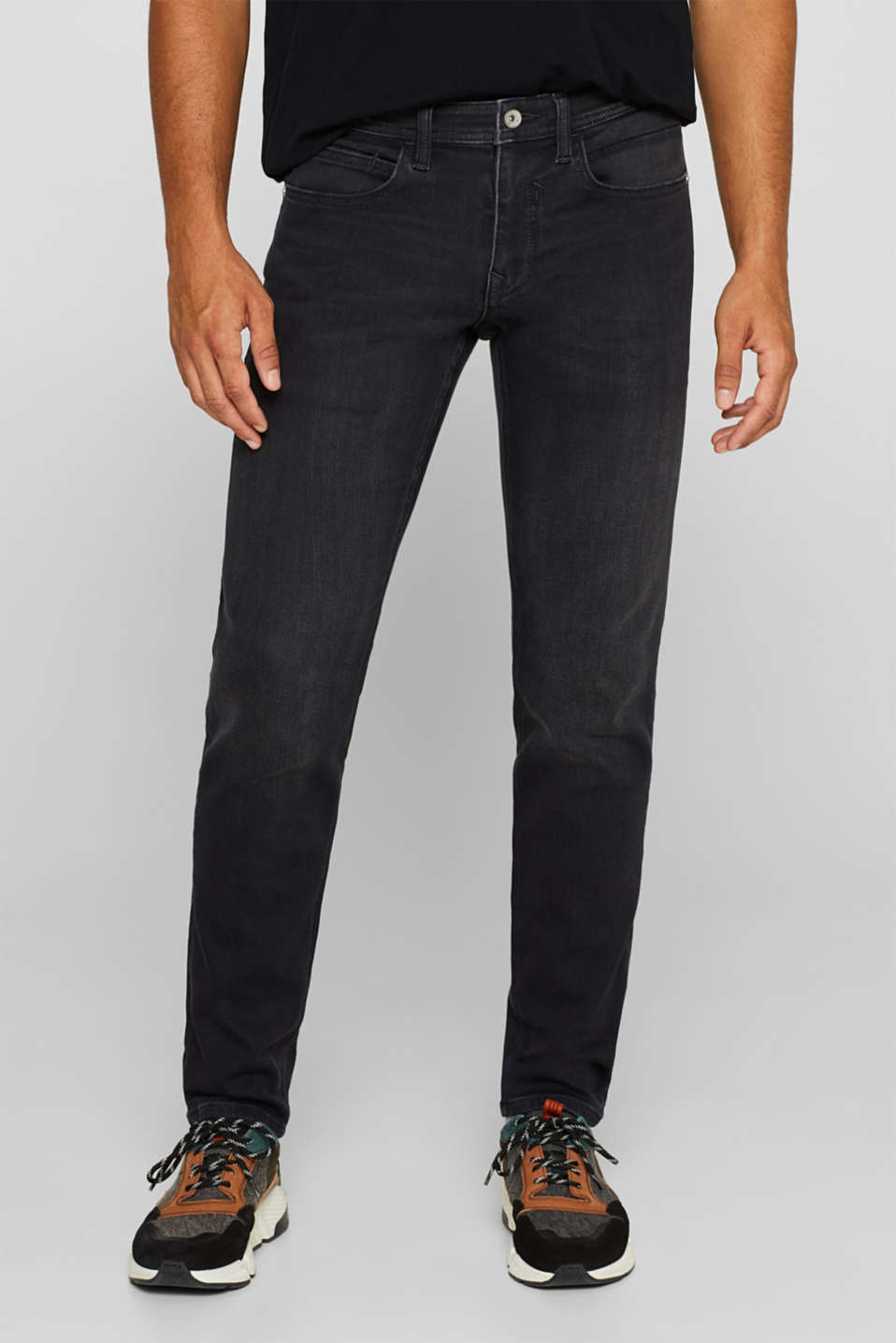 Esprit - Superstretchjeans van joggingstof