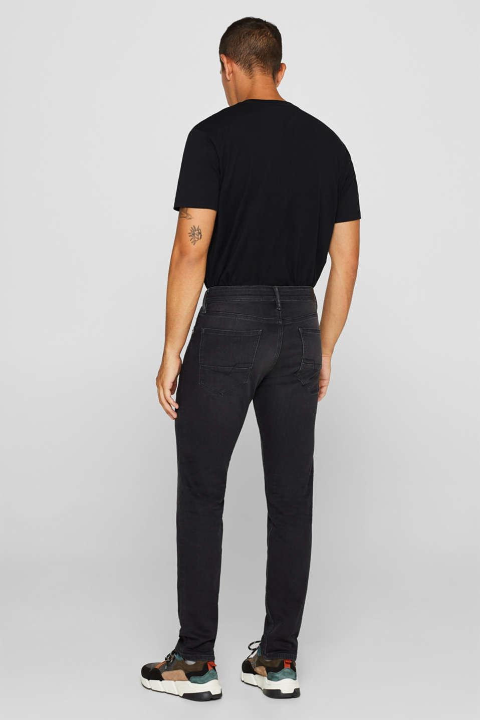 Pants denim, BLACK MEDIUM WASH, detail image number 1