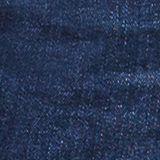 Super stretch denim with a vintage garment wash, BLUE DARK WASH, swatch