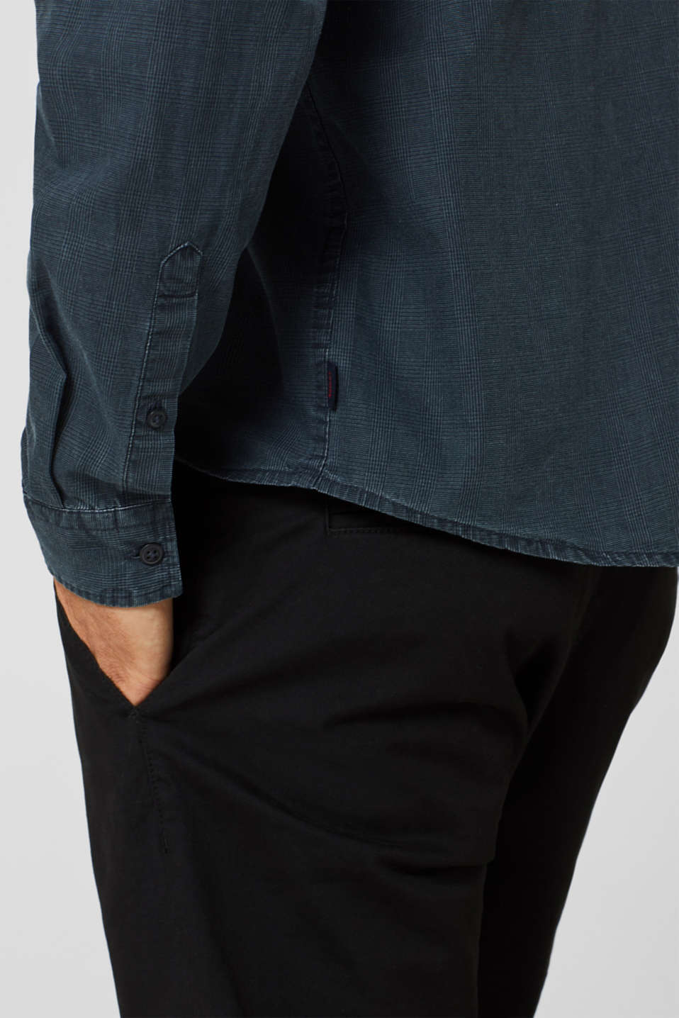 Shirts woven Regular fit, NAVY, detail image number 2