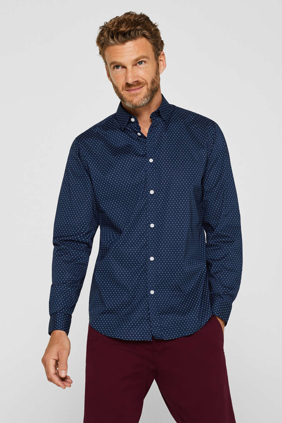 Esprit - Shirt with COOLMAX®