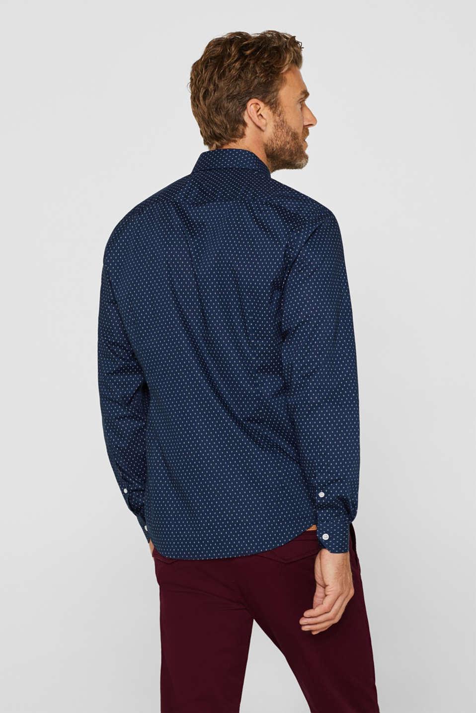 Shirts woven Slim fit, DARK BLUE, detail image number 3