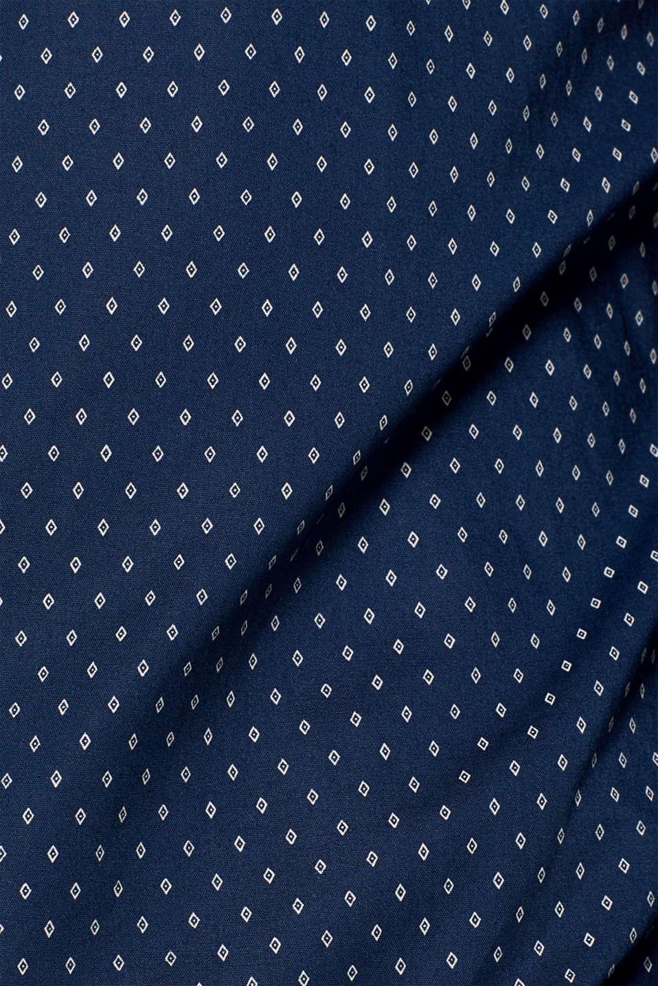 Shirts woven Slim fit, DARK BLUE, detail image number 4