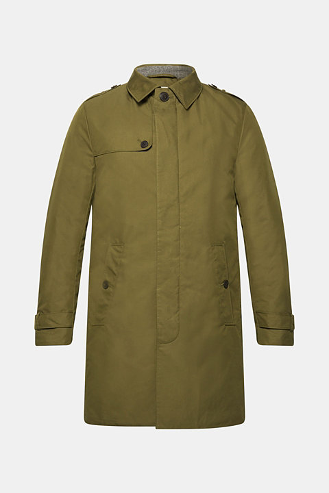 Trench coat with 3M™ Thinsulate™ padding
