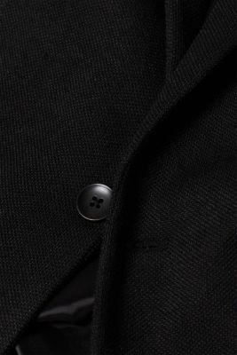 Men's blazer in piqué