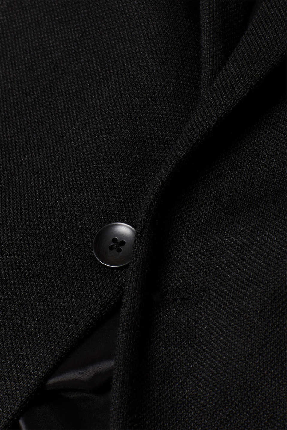 Blazers knitted, BLACK, detail image number 4