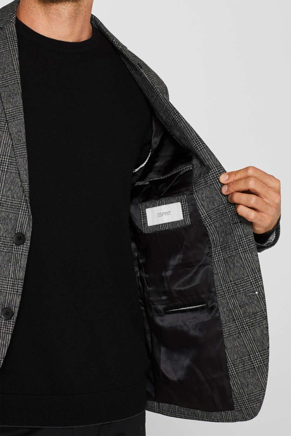 Blazers woven, DARK GREY, detail image number 2
