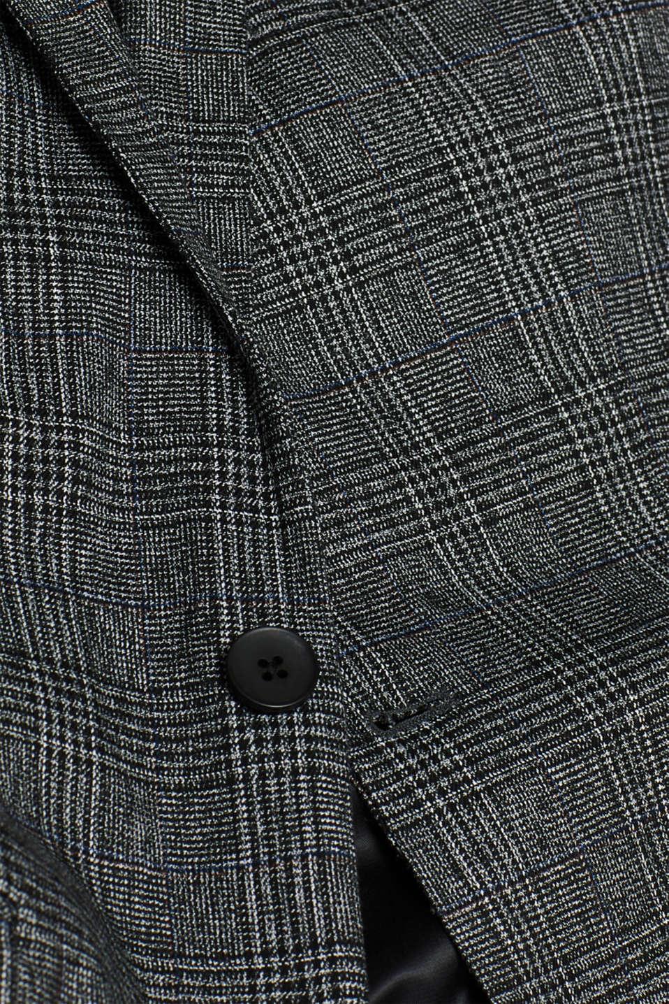 Blazers woven, DARK GREY, detail image number 5