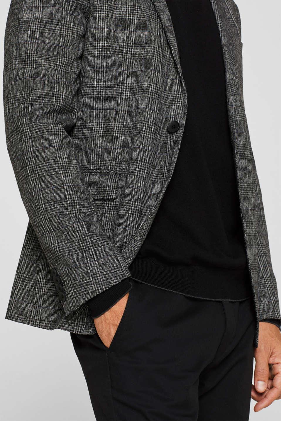 Blazers woven, DARK GREY, detail image number 7