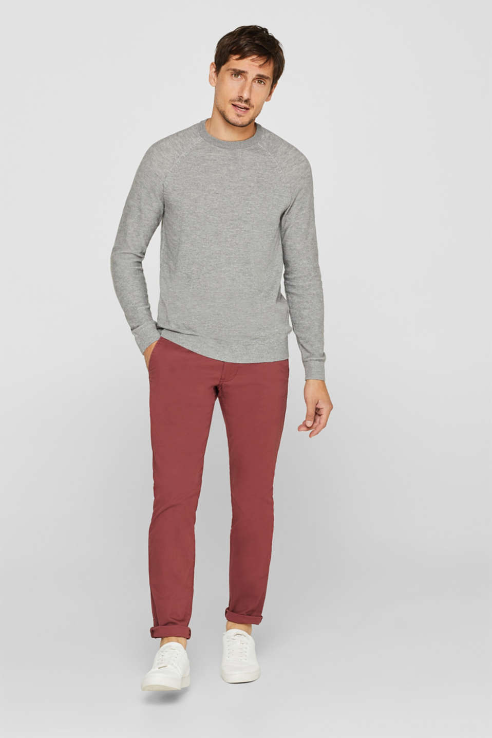 Sweaters, LIGHT GREY, detail image number 1