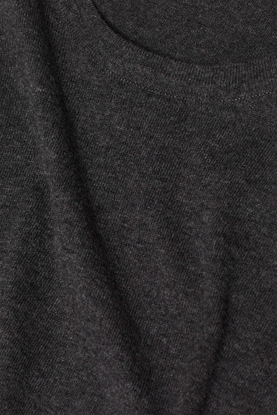 Sweaters, ANTHRACITE, detail image number 4
