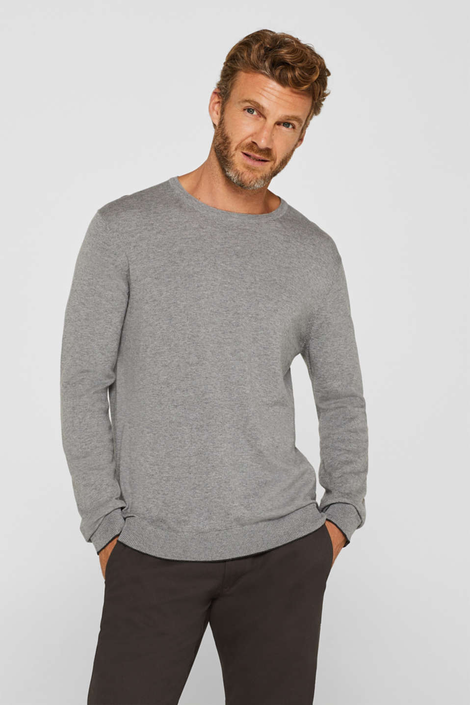 Sweaters, GREY, detail image number 0