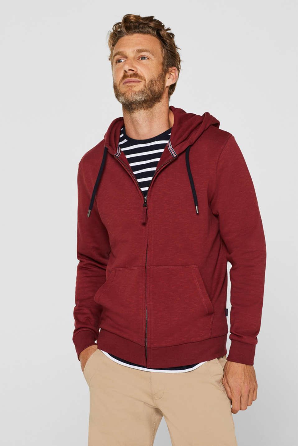 Sweatshirts, BORDEAUX RED, detail image number 0