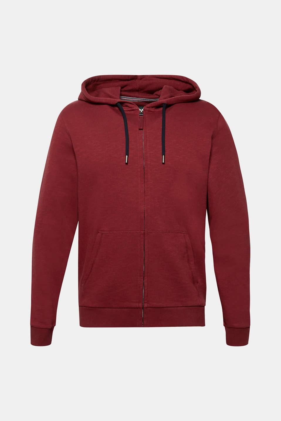 Sweatshirts, BORDEAUX RED, detail image number 7