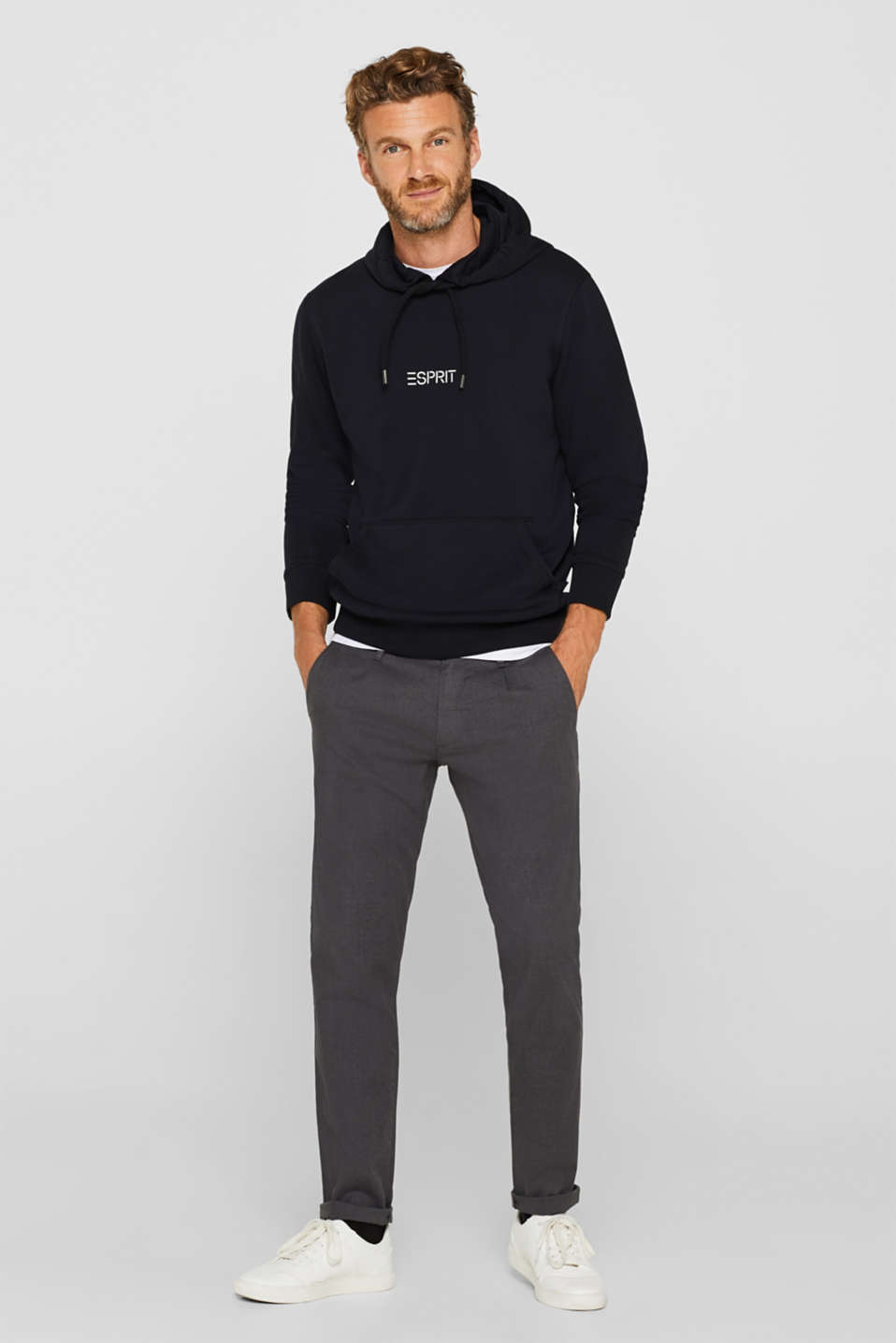 Sweatshirts, BLACK, detail image number 4