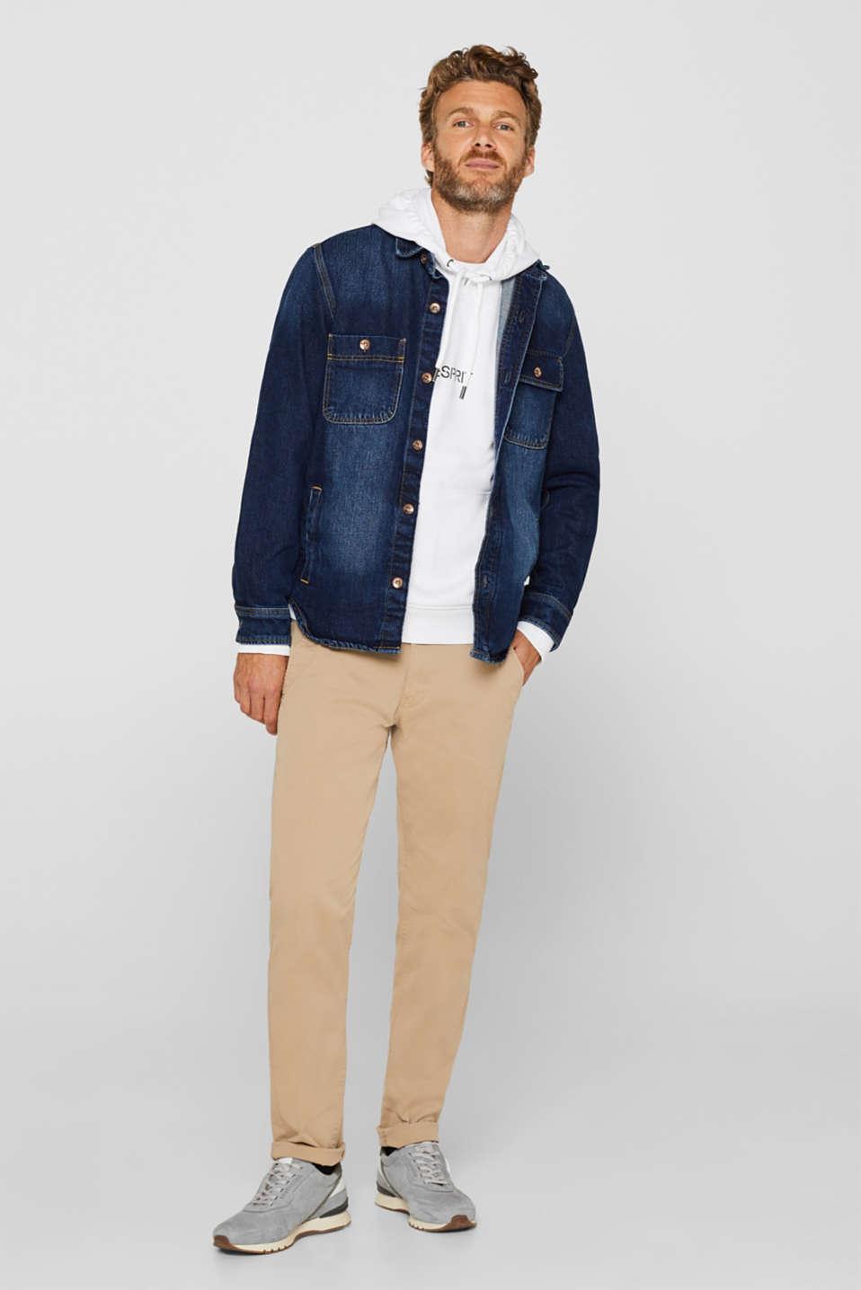 Sweatshirts, WHITE, detail image number 1