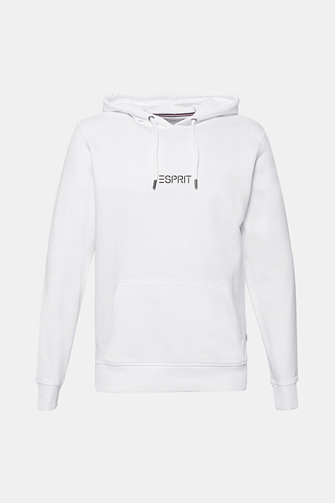Hoodie with a logo print