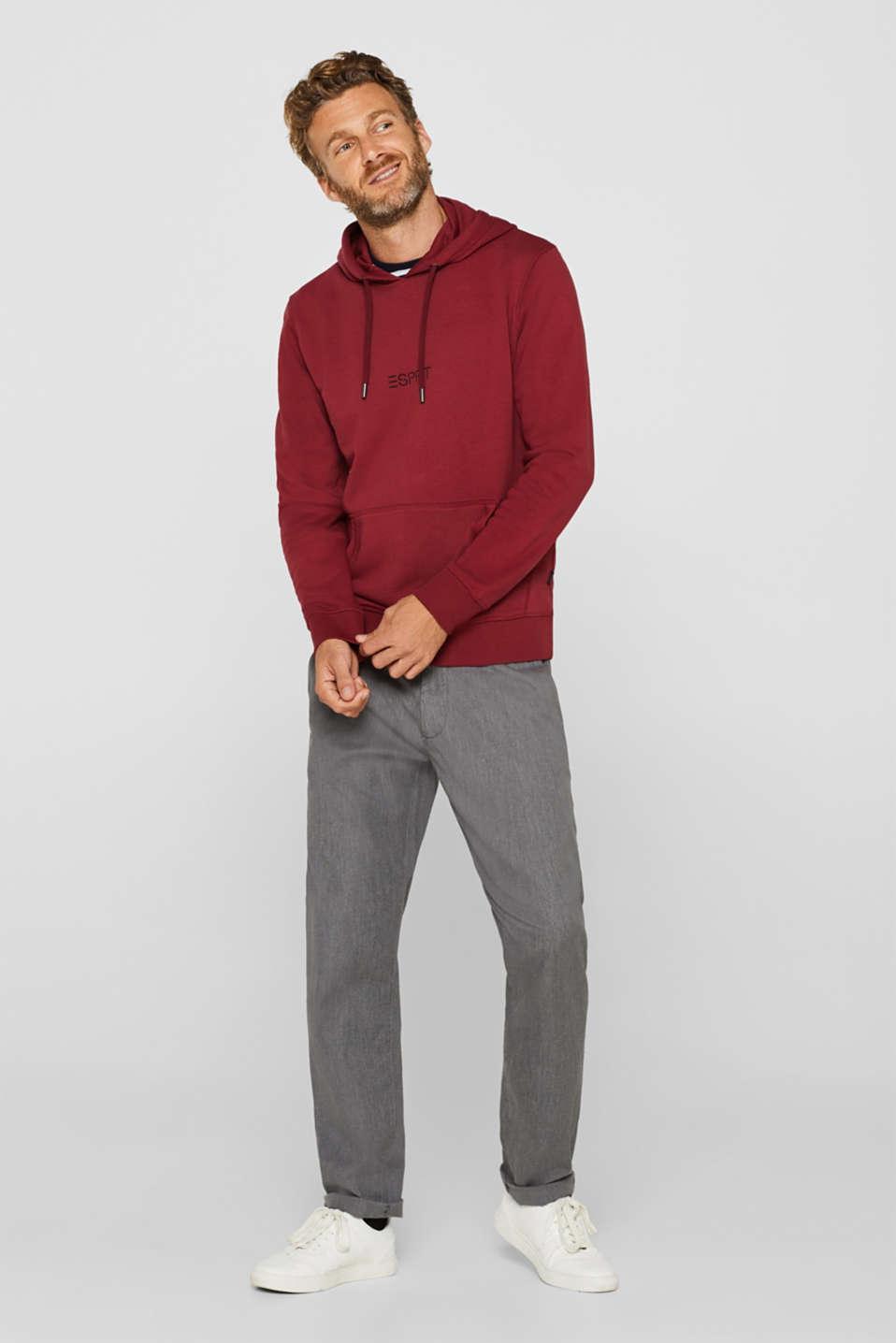 Sweatshirts, BORDEAUX RED, detail image number 1
