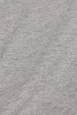 Long sleeve top made of melange jersey
