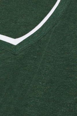 Layered jersey T-shirt
