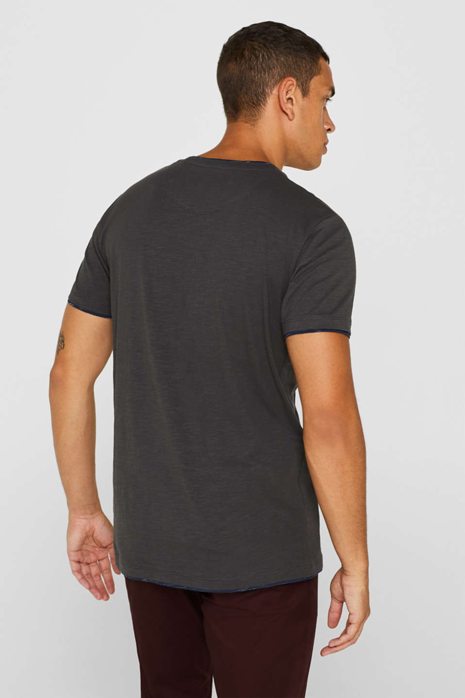 T-Shirts, ANTHRACITE, detail image number 3