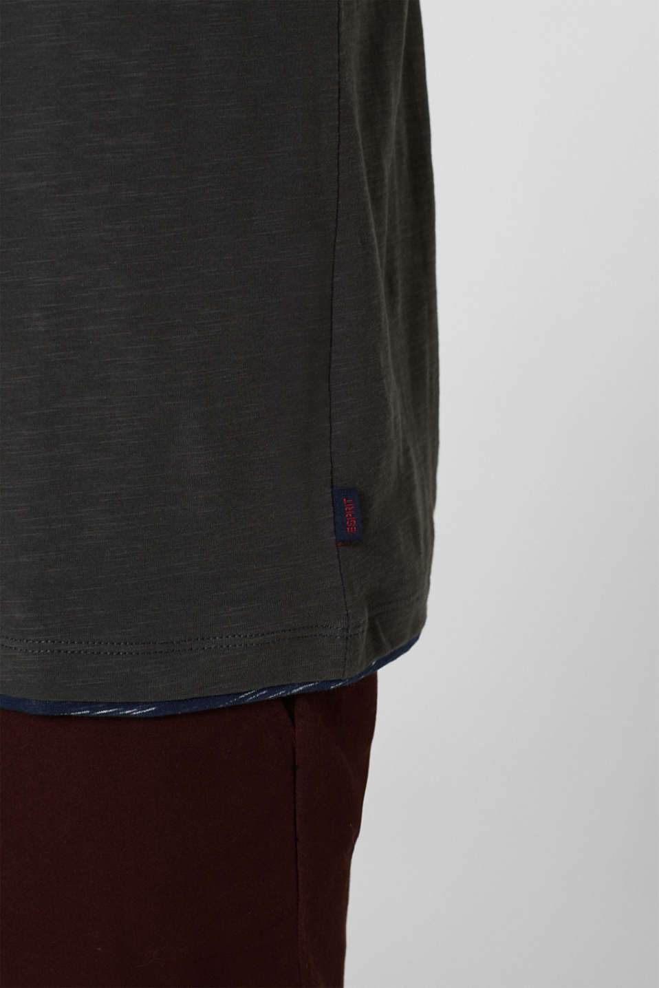 T-Shirts, ANTHRACITE, detail image number 1
