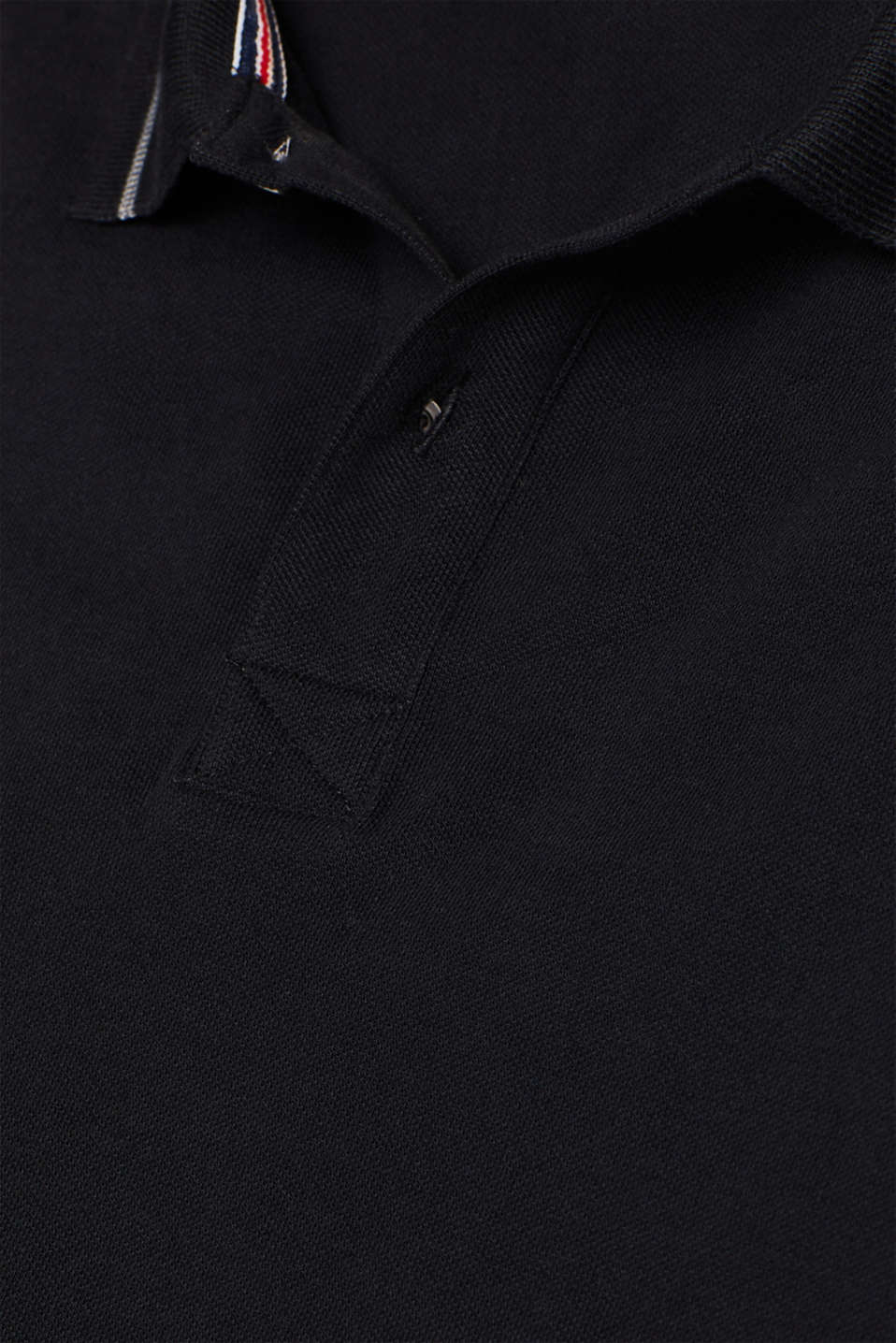 Polo shirts, BLACK, detail image number 4