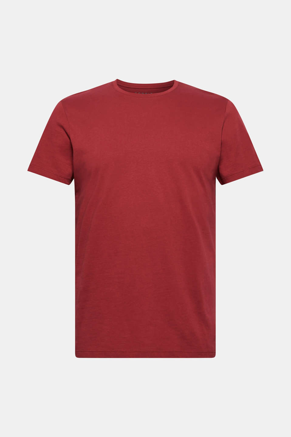 Jersey T-shirt in 100% cotton, BORDEAUX RED 2, detail image number 5