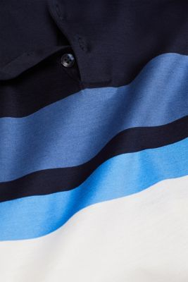Jersey polo shirt in 100% cotton