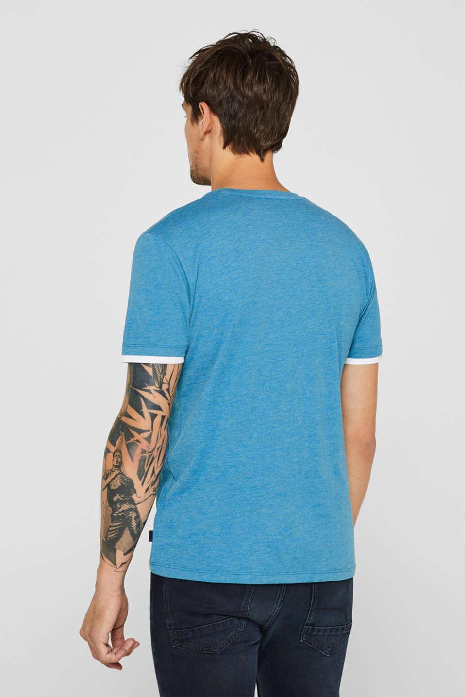T-Shirts, PETROL BLUE, detail image number 3