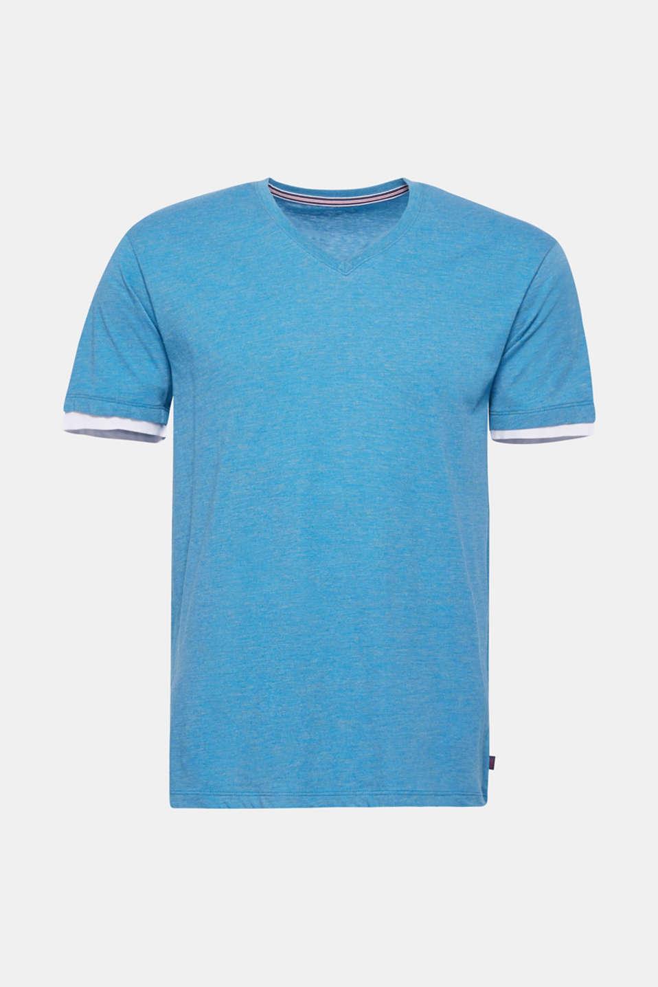 T-Shirts, PETROL BLUE, detail image number 6