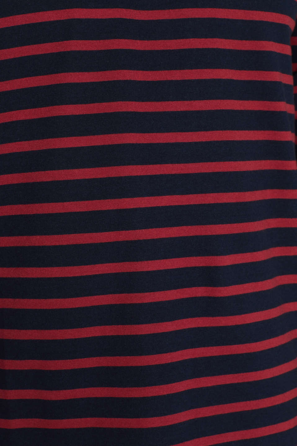 Jersey long sleeve top, 100% cotton, NAVY, detail image number 4